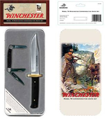 Winchester 22-41284 Model 70 Commemorative Bowie In Tin
