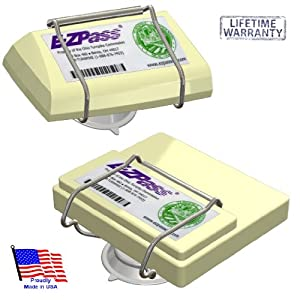 JL Safety EZP300 Indestructible Holder EZ Pass-Port Unbreakable Toll Pass Holder for NEW and OLD E-Z