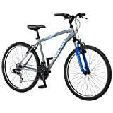 Schwinn Mens High Timber Mountain Bike, Grey, Medium