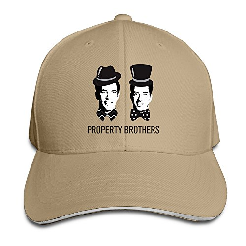 Bro-Custom Property Brothers Sandwich Snapback Cap Baseball Hat Natural (Property Brothers Season 1 compare prices)