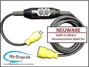 PersonenschutzZwischenschalter PRCDS nach BGI 608 zur Kabelmontage  BaumarktKundenbewertung: