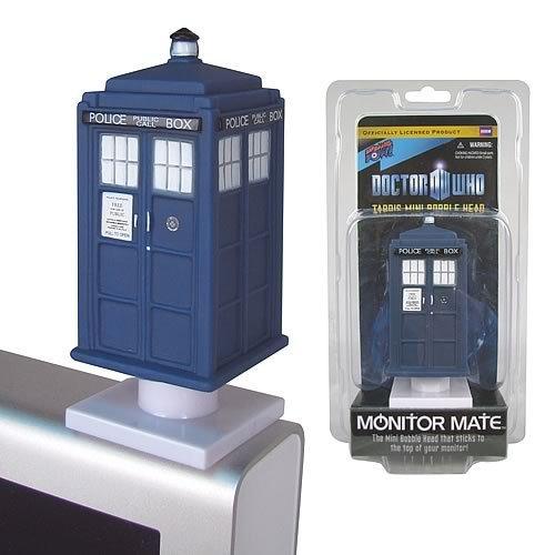 Bif Bang Pow! Doctor Who TARDIS Monitor Mate Bobble Head