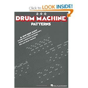 Machine patterns rene pierre bardet 2000 free patterns 260 drum machine patterns programming for drum machine music rene fandeluxe Image collections