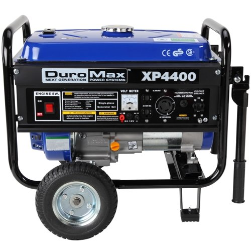 DuroMax XP4400 4,400 Watt 6.5 HP OHV 4-Cycle