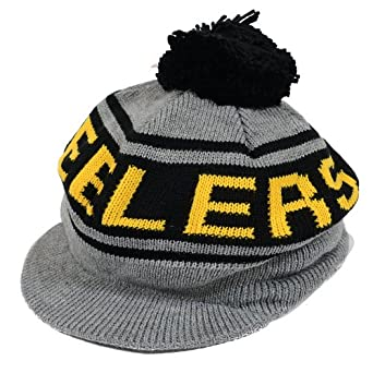 Pittsburgh Steelers Mitchell & Ness Road Caddy Hat - Charcoal Black by Mitchell & Ness