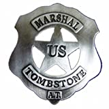 Denix Old West Era 2.5-Inch U.S. Marshall Tombstone Replica Badge