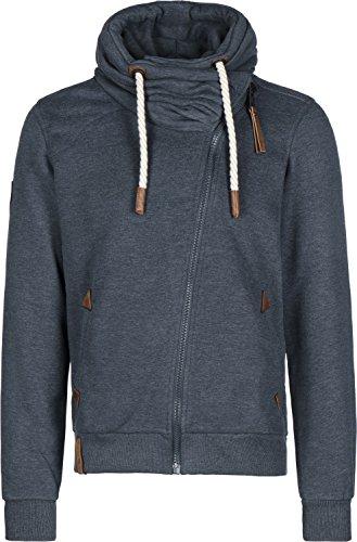 Naketano Men's Zipped Jacket Jan Mopila