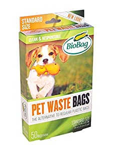 BioBag Dog Waste Bags, (Pack of 4)