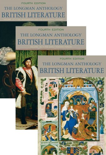 The Longman Anthology of British Literature, Volumes 1A, 1B, and 1C...