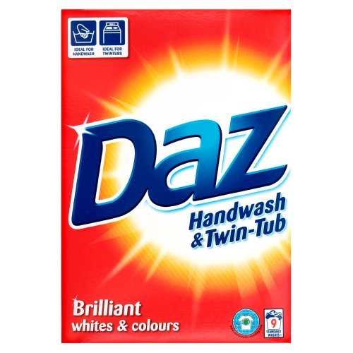 Daz Regular Handwash and Twin-Tub Washing Powder 9 Washes 960 g