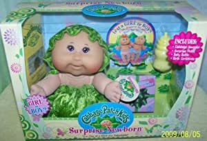 Cabbage Patch Kids 'Surprise Newborn'-Cuacasian Girl Bald