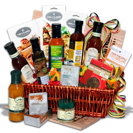 The Charcoal Connoisseur™ - Grilling - BBQ - Marinating - Cooking Gift Basket
