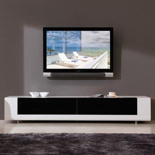 Cheap B Modern Editor Series 79″ TV Stand in High Gloss White Lacquer (B004WJTAJ2)