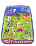 Littlest Pet Shop Exclusive Mega 10-Pack of Pets in Carry Case