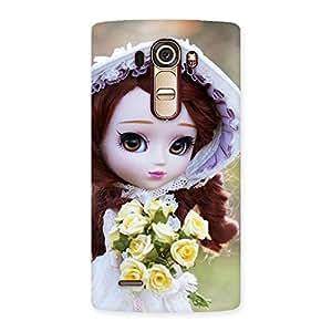 Stylish Bride Angel Doll Multicolor Back Case Cover for LG G4