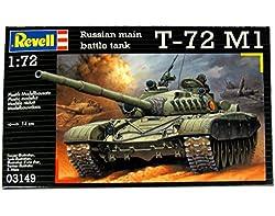 RCS Toys Revell 3149 1:72 Soviet Battle Tank T-72 M1 Assembly Model Kit