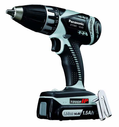 Panasonic EY7441LE2S 14.4-Volt IP Drill & Driver Kit