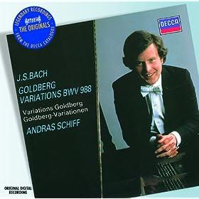 """J.S. Bach: Aria mit 30 Ver�nderungen, BWV 988 """"Goldberg Variations"""" - Aria"""