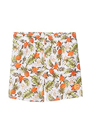 CPM Short de Baño (Crudo / Naranja)