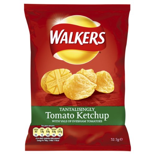Walkers Tomato Ketchup 32.5 G (pack Of 48) Picture