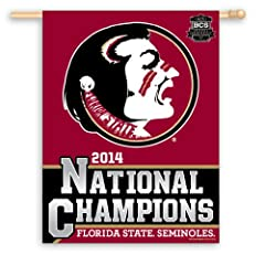 Buy Florida State Seminoles Official 2013 BCS National Champions Flag by WinCraft