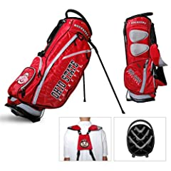Brand New Ohio State University Buckeyes Fairway Stand Bag by Things for You