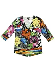 Flirtation  Vibrant printed Cardigan Multicoloured