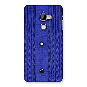 Special Royal Blue Sweat Print Back Case Cover for LeTv Le Max
