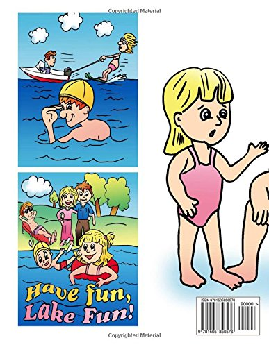 Ten Acre Reservoir Lake Safety Book: The Essential Lake Safety Guide For Children