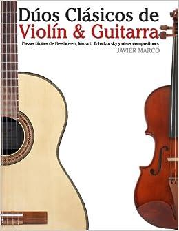 Dúos Clásicos de Violín & Guitarra: Piezas fáciles de Beethoven