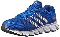 adidas Performance Powerblaze Running Shoe (Little Kid/Big Kid), Collegiate Royal/Silver/Navy, 4.5 M US Big Kid