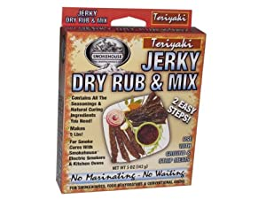 Smokehouse Products Teriyaki Jerky Mix, 10-Pack by Smokehouse Products