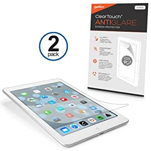 BoxWave ClearTouch iPad mini (2012) Anti-Glare Screen Protector (2-Pack) - Premium Quality iPad mini 1st Gen Anti-Glare, Anti-Fingerprint Matte Film Skin to Shield Against Scratches (Includes Lint Free Cleaning Cloth and Applicator Card)