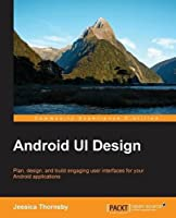 Android UI Design Front Cover