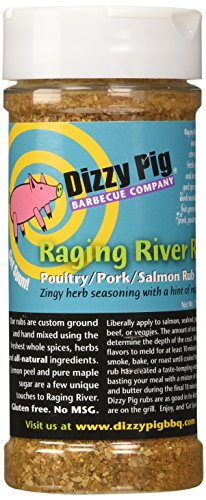 Dizzy Pig BBQ Raging River Rub Spice - 7.9 Oz (Dizzy Pig Bbq compare prices)