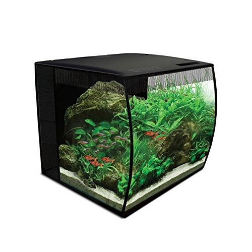 Hagen HG Fluval Flex Aquarium 34L, 9gal (Color: White, Tamaño: 9 Gallon)