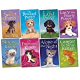Holly Webb Holly Webb Pack, 8 books, RRP £39.92 (Alone In The Night; Ginger The Stray Kitten; Lost Puppy; Lucky the Rescued Puppy; Lucy The Poorly Puppy; Sky The Unwanted Kitten; The Frightened Kitten; The Secret Puppy).