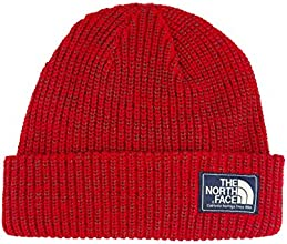 The north face bonnet beanie salty dog Taille unique Rouge - Rouge