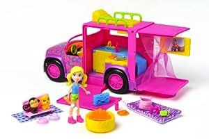 Amazon.com: Polly Pocket Slumber Party Safari Vehicle: Toys & Games