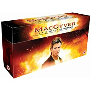 MacGyver The Complete Series DVD for $55 delivered from Amazon
