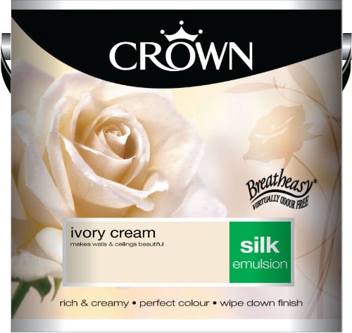 Crown Silk 2.5L Emulsion - Ivory Cream