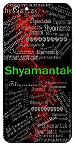 Shyamantak (Lord Krishna) Name & Sign Printed All over customize & Personalized!! Protective back cover for your Smart Phone : Samsung Galaxy S4mini / i9190