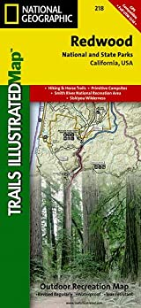 TI Map #218- Redwood National Park