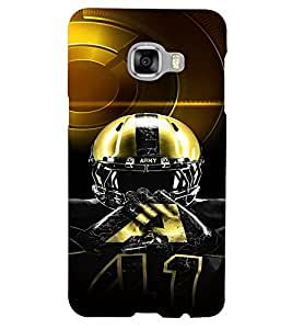 PrintVisa Sports NHL 3D Hard Polycarbonate Designer Back Case Cover for Samsung C5