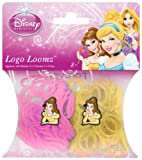 Disney Princesses Belle Loom Bands and Charm Pack (200 Bands, 6 Clips and 1 Charm)