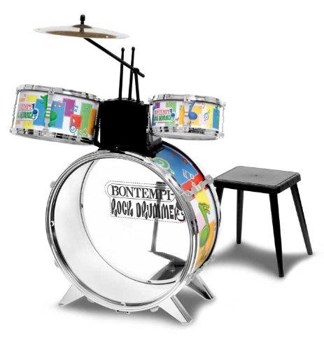 Imagen principal de Bontempi Rock Drummer Drum Set With Stool