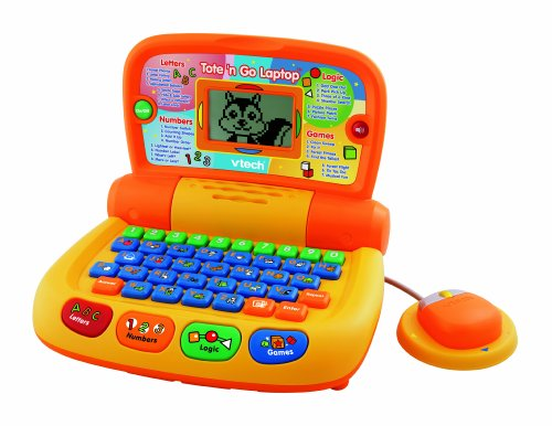 <b>VTech Preschool Learning Tote and Go Laptop</b>