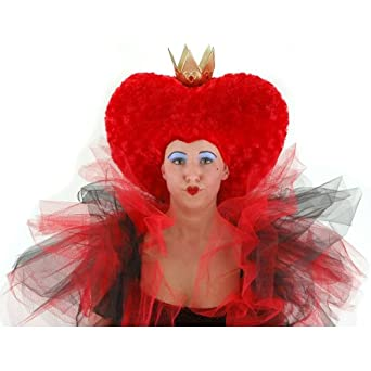 alice red queen wig childrens books