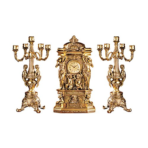 Gilt Candelabra Set