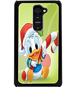 ColourCraft Cute Cartoon Design Back Case Cover for LG G2
